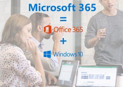 Microsoft 365: Office 365 + Windows 10 + Enterprise Mobility in één pakket voor MKB en Enterprise
