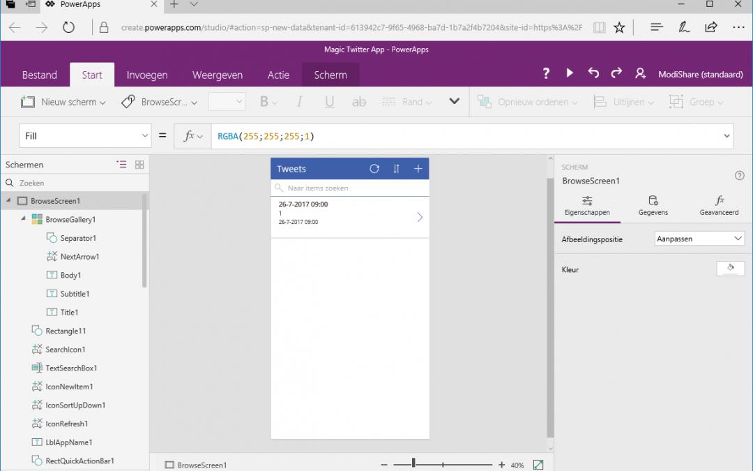 Bouw zélf een mobiele app en ontsluit jouw SharePoint data handig en snel via PowerApps