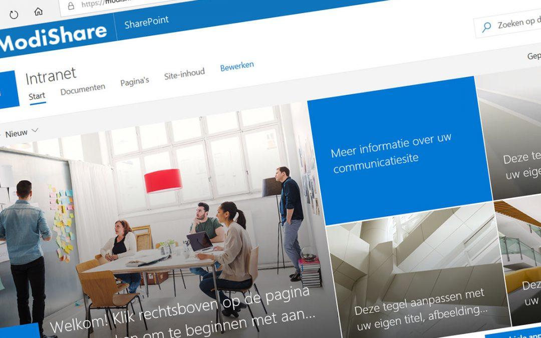 Pimp nu jouw (oude) klassieke SharePoint intranet naar moderne look & feel