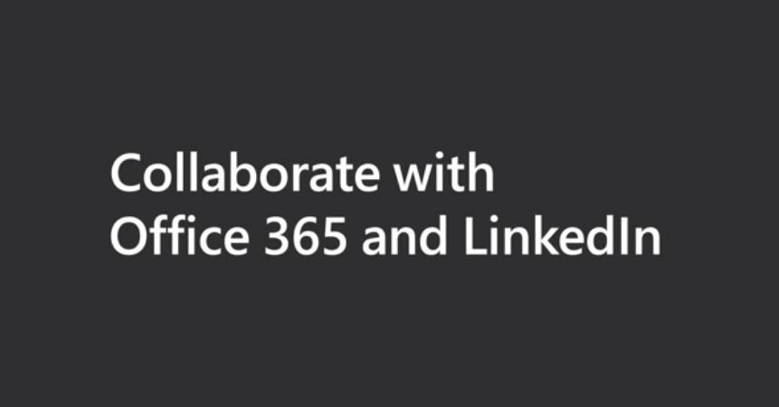 Nieuw: Direct vanuit Office documenten delen met jouw LinkedIn connecties en samenwerken