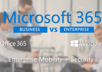 Microsoft 365 Business vs Enterprise: de verschillen