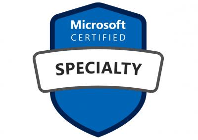 Nieuw: Microsoft Specialty certificeringen
