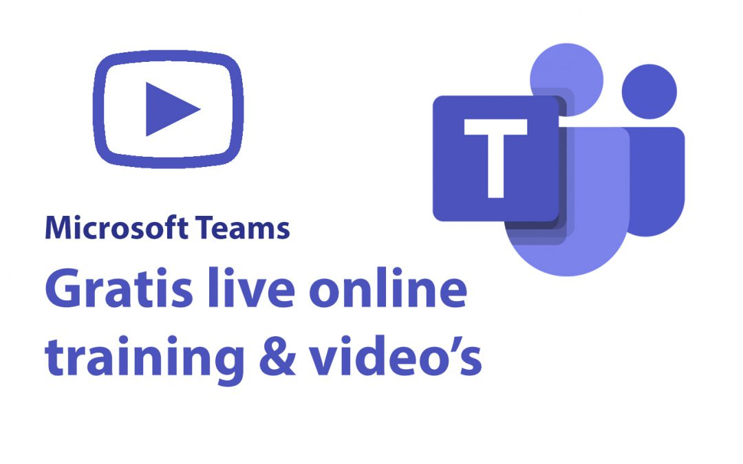 Microsoft Teams: gratis online live training & video's