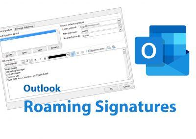 Outlook: Met Roaming Signatures gebruik je straks op elk apparaat dezelfde handtekening