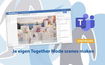 Teams: Je eigen Together Mode scenes maken